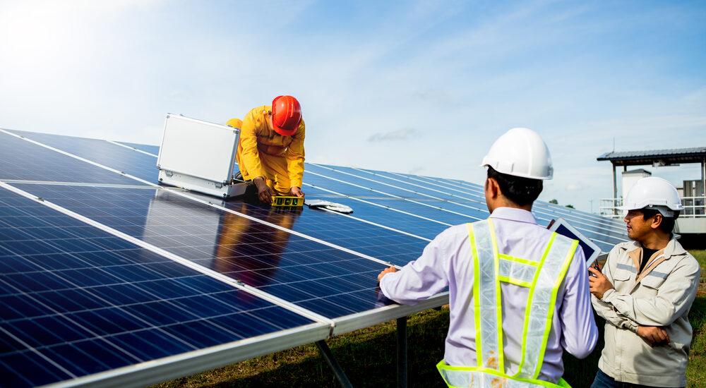 entretien panneaux solaire